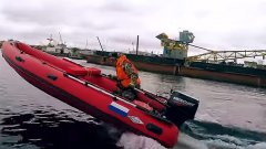 Разогнали лодку ПВХ до 69 км/ч