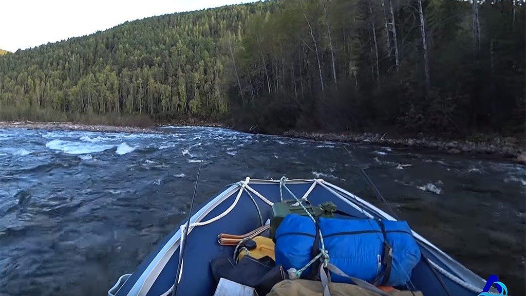 На водометах по реке Онот. Рыбалка. Часть 2