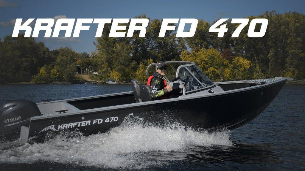 Krafter FD 470 - алюминиевая лодка для отдыха и рыбалки!
