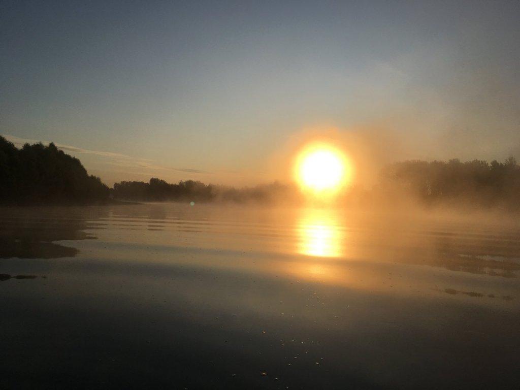 На восход...