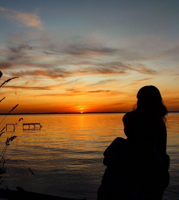 Однажды тёплым вечерком. Караканский бор.