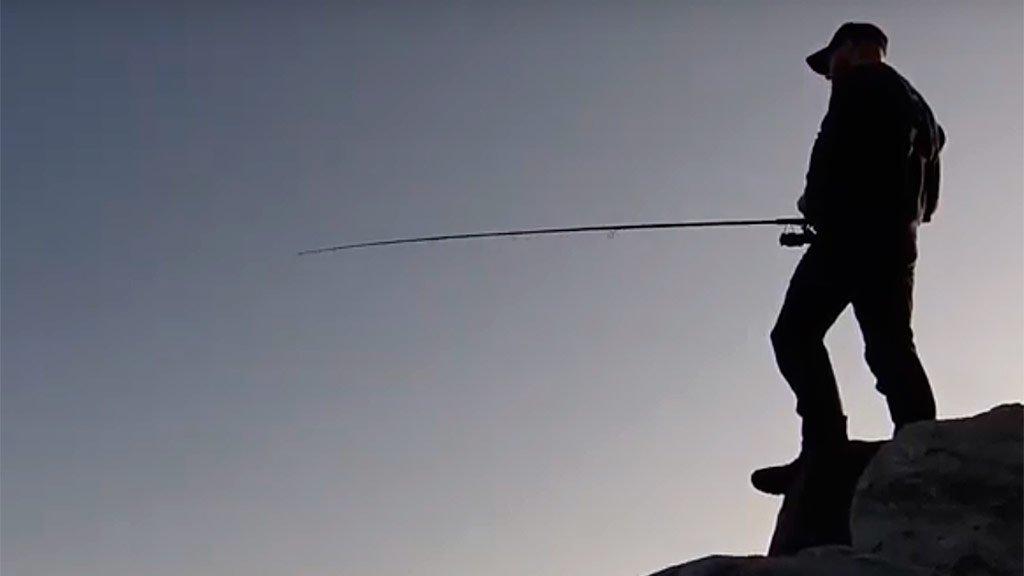 Рыбалка с берега в Норвегии. Осень 2019