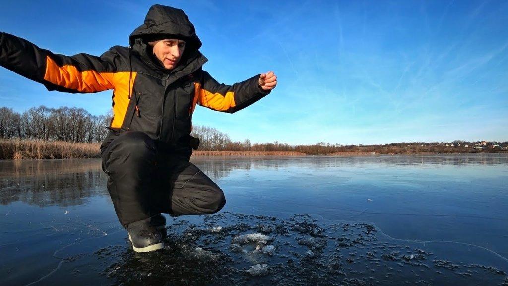 Первый лёд. Зимняя рыбалка 2019-2020 г. Ловля на балансир и мормышку