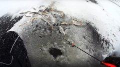 Городская рыбалка по перволедью. Активный клёв окуня