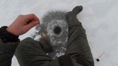 Рыбалка. Первый лед 2019. Ловим окуня.