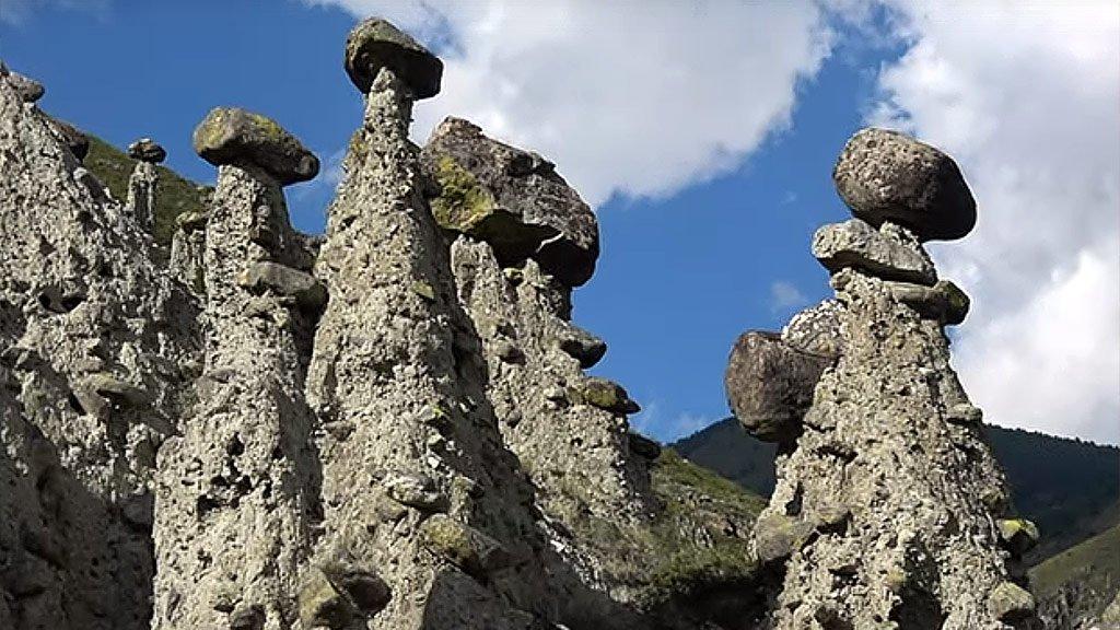 Каменные грибы Алтая   Идем в горы, чтобы увидеть ЭТО!