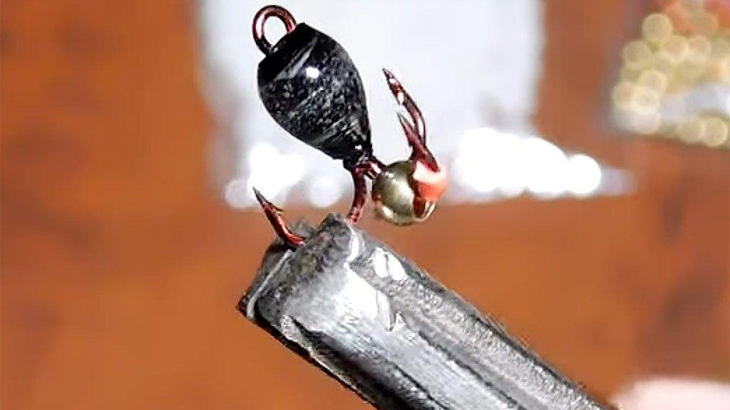 Как сделать чертик для зимней рыбалки своими руками