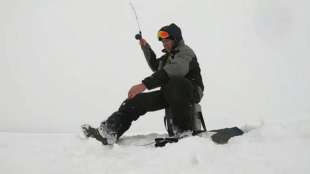 Тест блесен ECOPRO. Купил эхолот. Рыбалка на судака на снегоходе