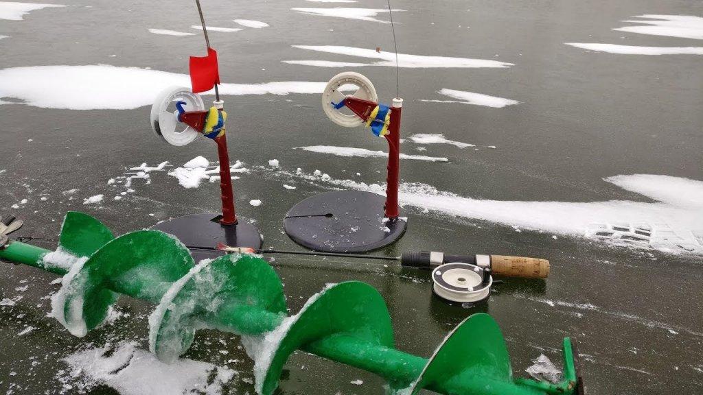 Рыбалка на жерлицы и балансир. Первый лед 2019-2020