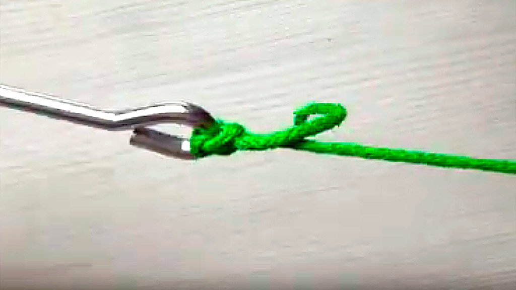 Кроуфордский узел: как привязать крючок, поводок, вертлюжок, карабин, застежку