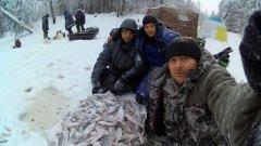 Бешеный клев в мороз. Зимняя рыбалка 2019-2020 по первому льду (часть 2)