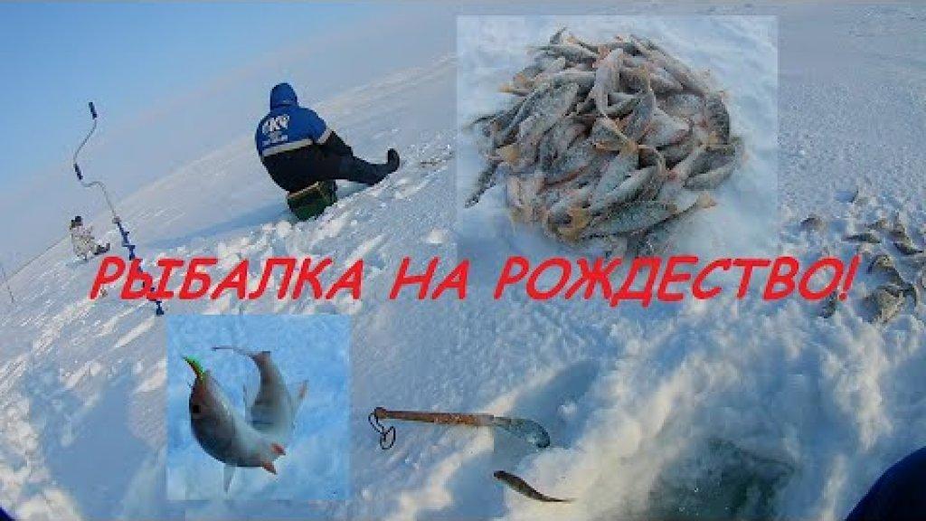Рыбалка на Рождество на озере, отличный клёв окуня.