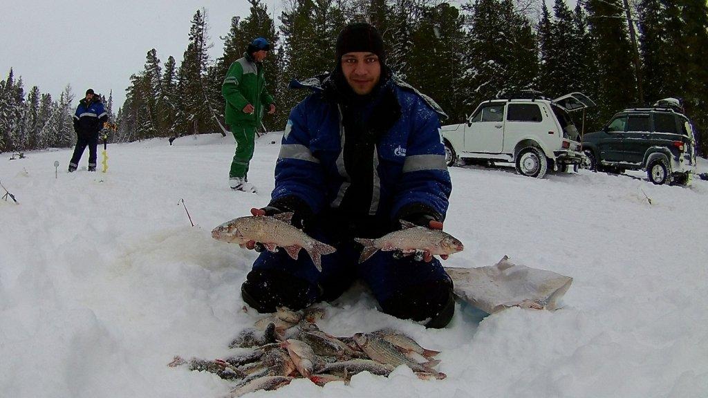 Рыбалка перед Рождеством река Еты-Пур