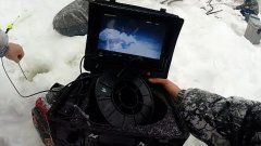 Камера ЯЗЬ-52. Первое испытание в плохую погоду. Рыбалка в глухозимье в Сибири