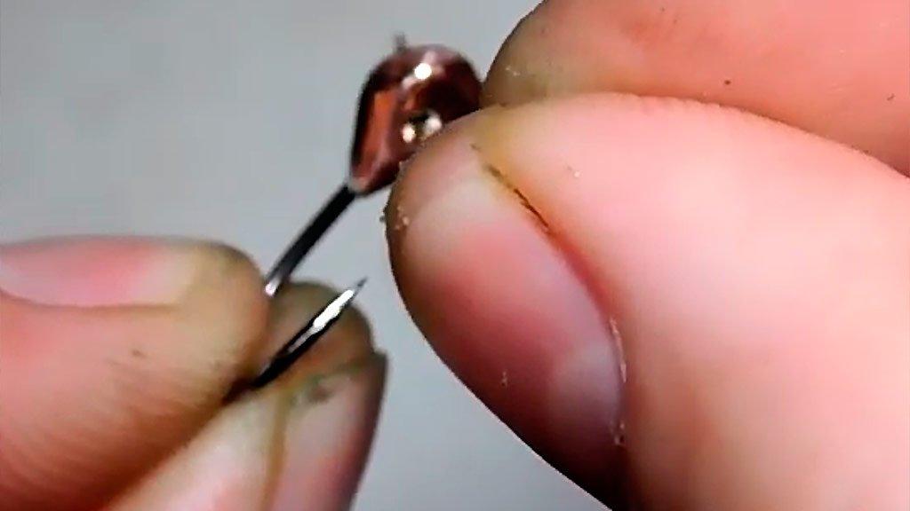 Как сделать мормышку за 5 мин своими руками для рыбалки
