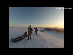 Рыбалка в Сибири после глухозимья. Поездка на мотобуксировщике на дальний кардон. Рыбалка 2020!!!