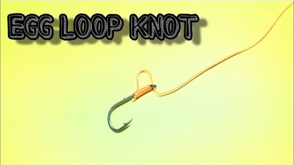 Egg loop knot | Как привязать крючок к леске | Fishing Knots
