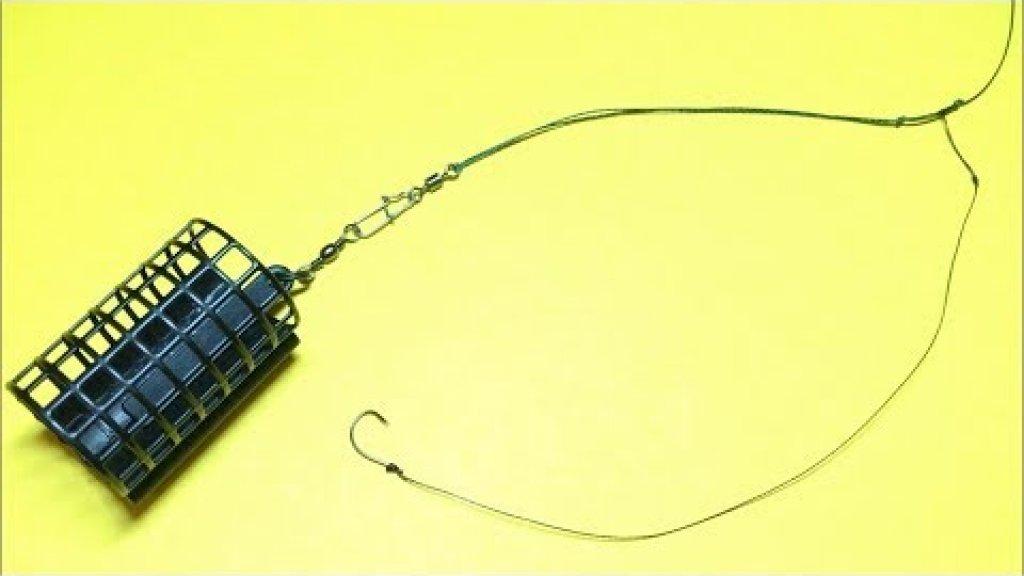 Фидерный монтаж вертолет и два узла | Фидерная оснастка | Feeder Fishing