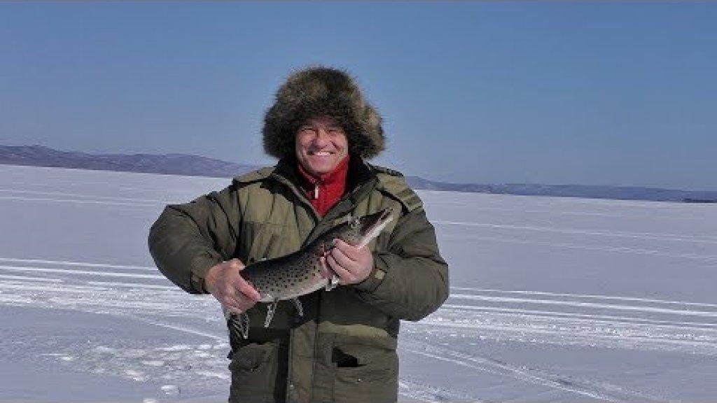 Рыбалка 23 февраля. Трофей и много радости.