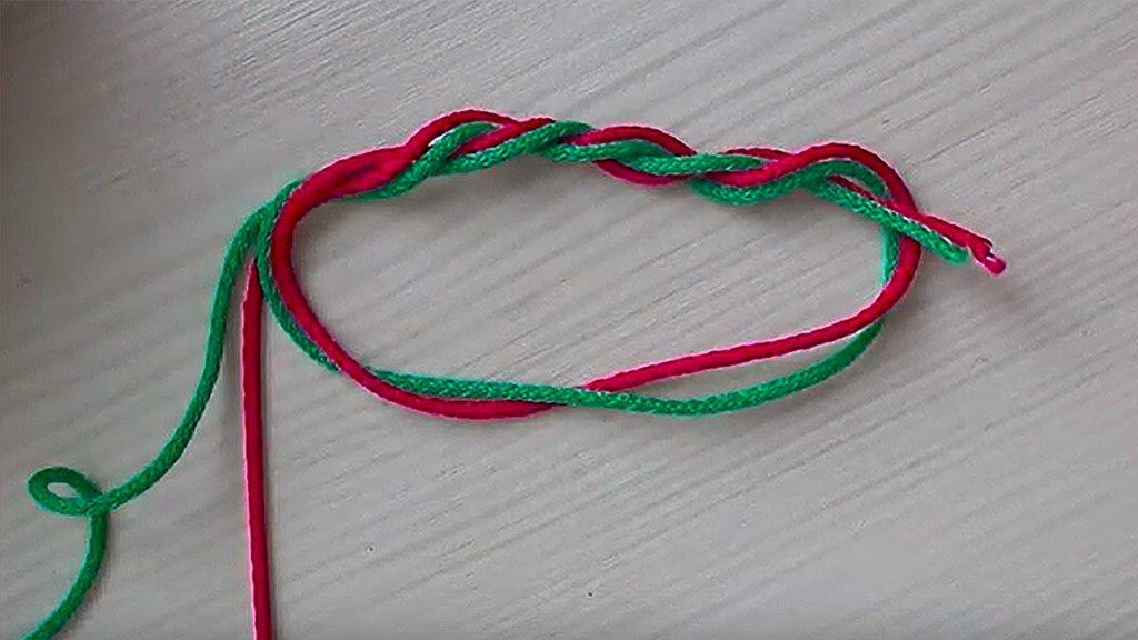 Тройной узел - простой и надежный способ связать две лески