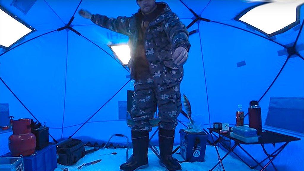 Рыбалка в минус 30. Братское ВДХР. Ангара