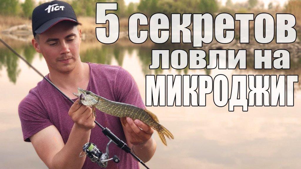 Как поймать пассивную рыбу на микроджиг? Мои секреты