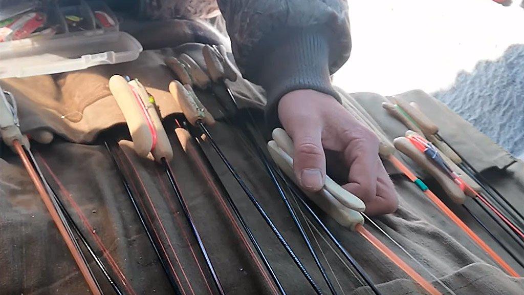 Зимние снасти Сахалина. Лайфхаки про комбайны. Сахалинская рыбалка