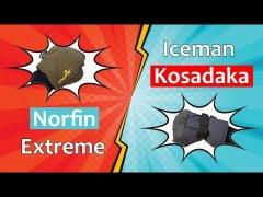 Norfin vs. Kosadaka: Зимние перчатки для рыбалки