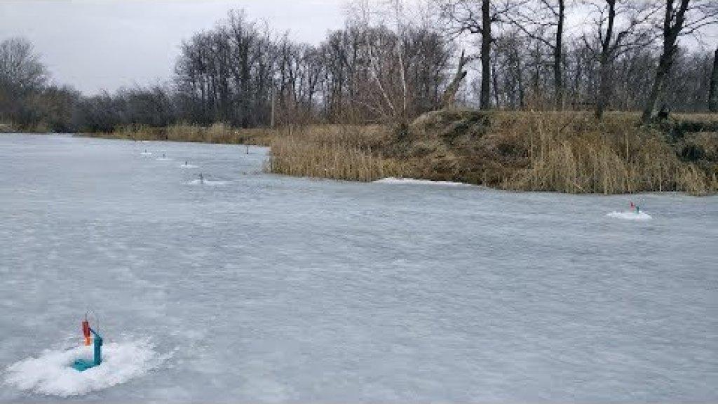 Жерлицы по последнему льду, рыбалка весной со льда
