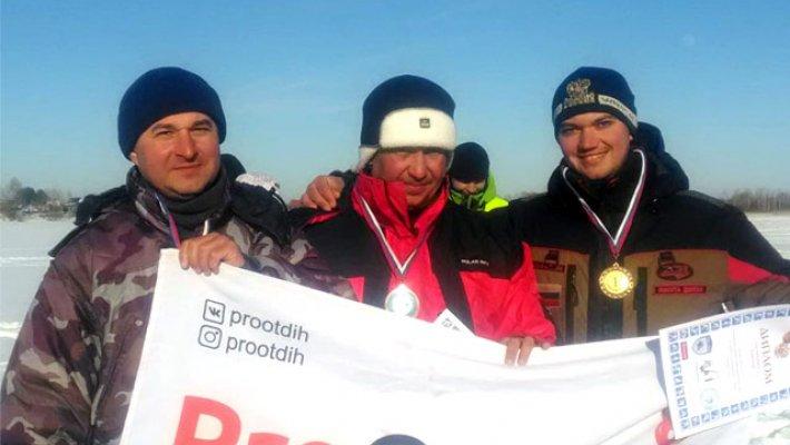 Команда FishingSib - победитель финала кубка НСО