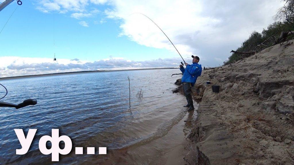 Рыбалка на удочку при сильном ветре