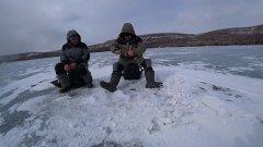 Рыбалка в Шарыпово. Весна. Мормыш