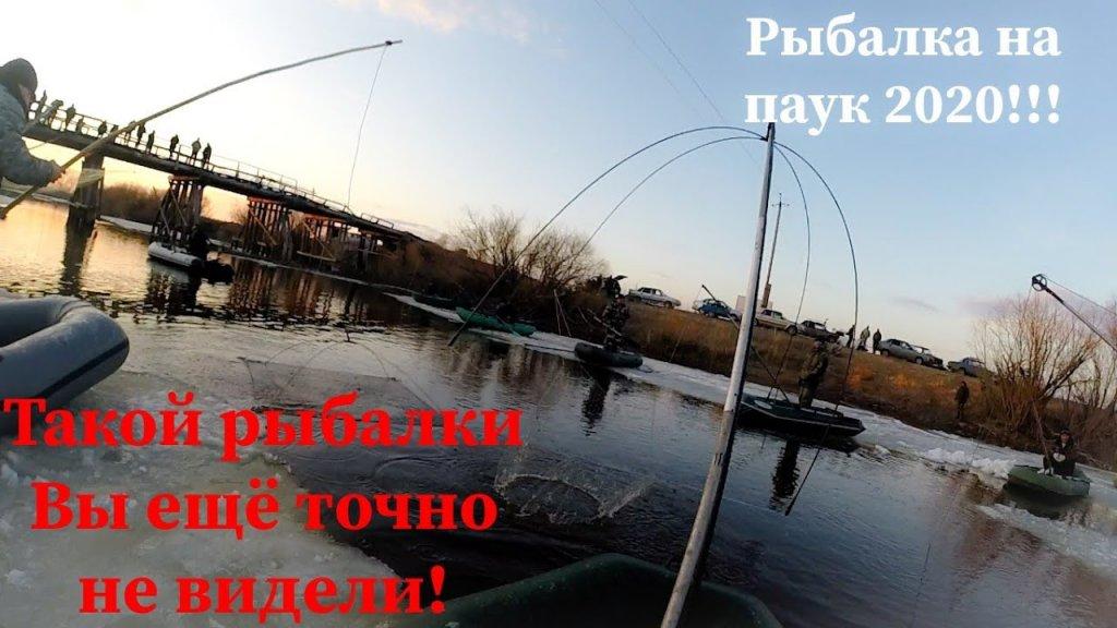 Рыбалка на паук-подъемник. Рыбалка с лодки на паук