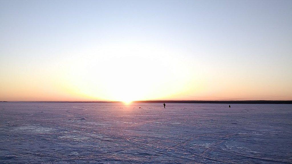На вечернего судака. Рыбалка 2020 со льда продолжается
