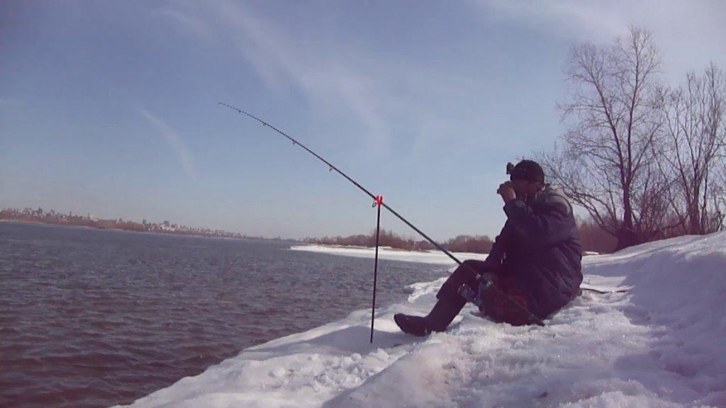 Разведка летних мест на Оби. Рыбалка на фидер ранней весной. Рыбалка 2020