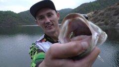 ОКУНЬ ЗА КИЛОГРАММ. Ловля басса на спиннинг. Рыбалка на Кипре