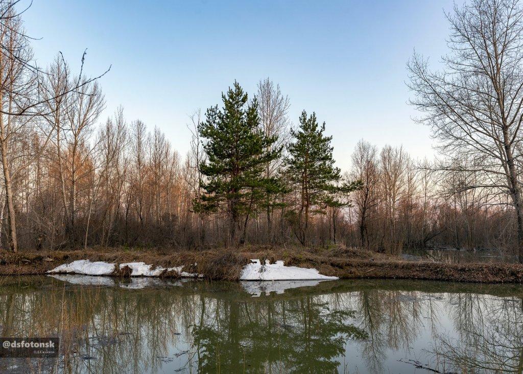 Северно-сибирский пейзаж в Матвеевской округе.