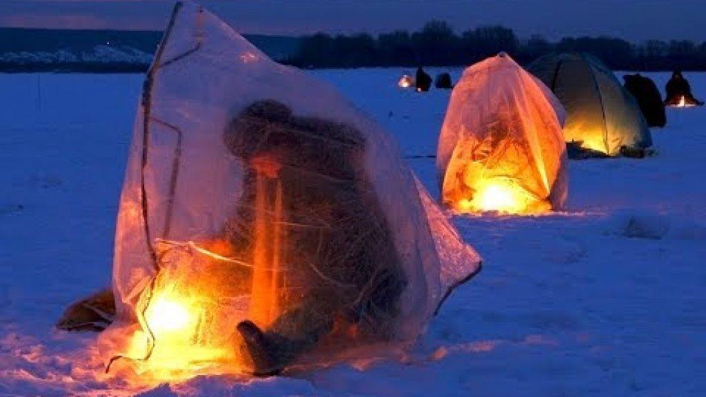 Зимняя рыбалка с комфортом. Ловля плотвы зимой
