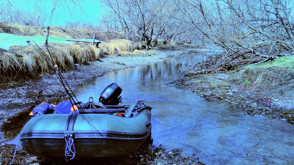 Камчатка, река Большая, май