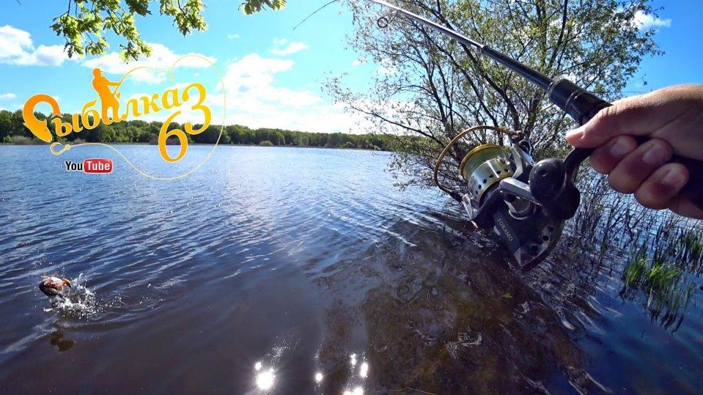 Весенняя рыбалка на спиннинг с берега, щука в мае на спиннинг