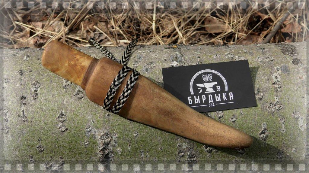 Якутский охотничий нож, с таким и на медведя можно пойти.