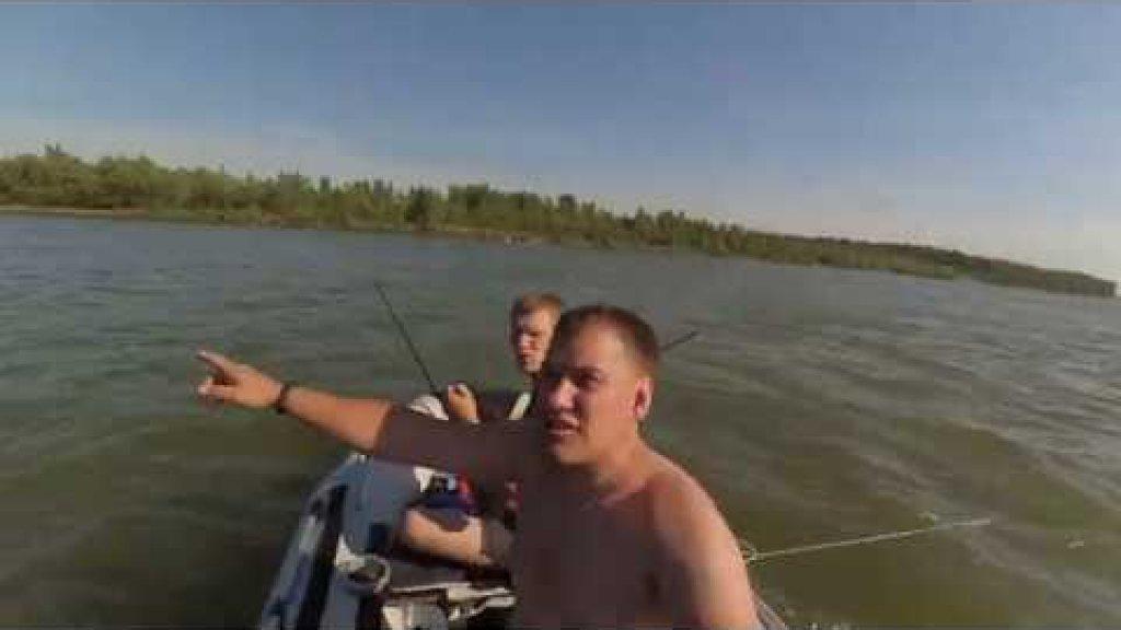 Рыбалка на сломе погоды, всё пошло не по плану