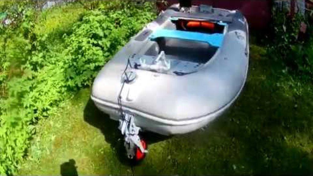третье носовое транспортировочное колесо для лодки пвх