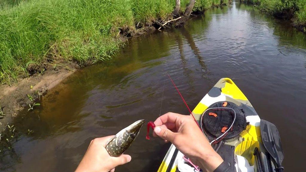 Каякфишинг, рыбалка на каяке