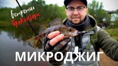 ОТЛИЧНЫЙ КЛЁВ в непогоду / МИКРОДЖИГ / Рыбалка на спиннинг / 4K