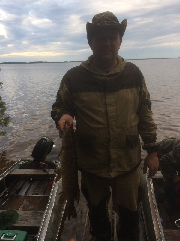 Щука озеро Васильево