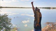 Супер рыбалка, река Или 2020 район Кокжиде, второе открытие сезона. часть 1/2