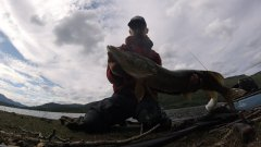 Kayak Fishing - July (Pike fishing in Scotland) hopaa