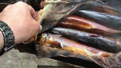 рыба горячего копчения и для чего нужна марля-сибирский рецепт