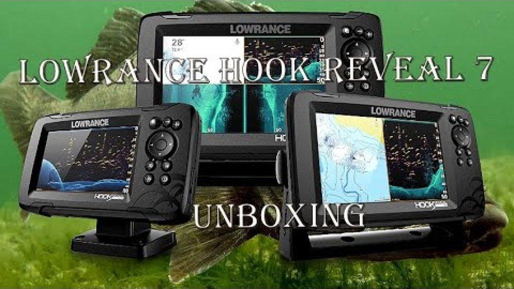 Эхолот lowrance hook reveal 7 распаковка и первый взгляд.